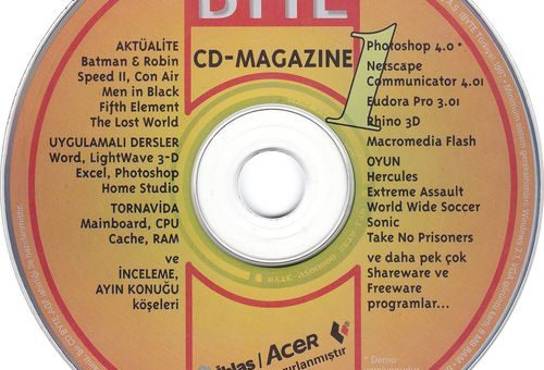 BYTE CD Magazine 1